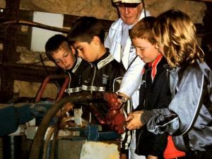 schoolreisje steenkolenmijn
